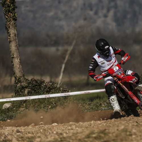Alex Salvini vence primeira etapa do Italiano de Enduro 2021.